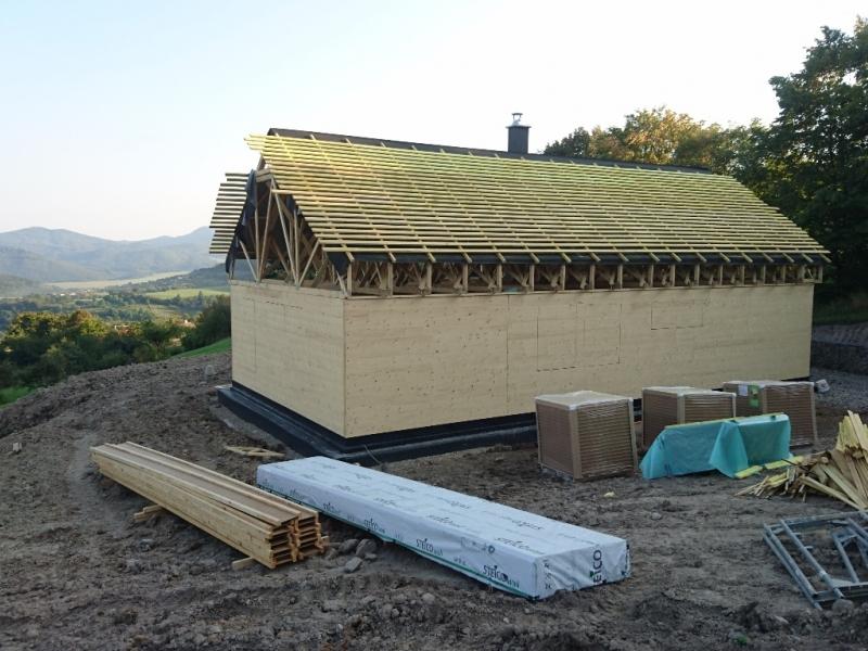 ekologicke CLT panely a drevostavba