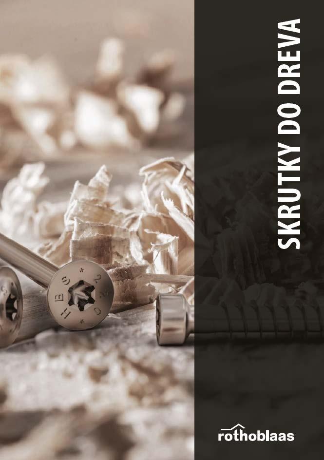 CLT panely, Rothoblaas - Spojovaci material katalog