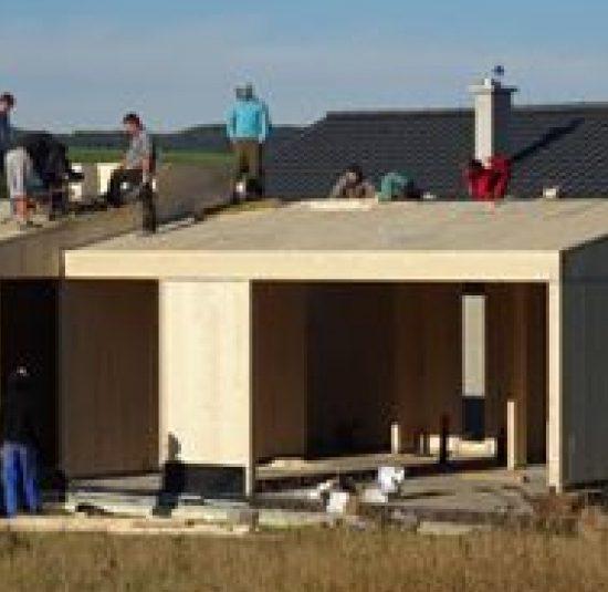CLT rodinny dom z ekologickych stavebnych materialov z CLT PANELOV